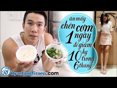 Ăn Mấy Chén Cơm 1 Ngày Để Giảm 10kg Trong 6 Tháng Như Junie Xinh - HLV Ryan Long Fitness