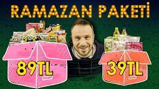 RAMAZAN PAKETLERİ 39TL vs 89TL