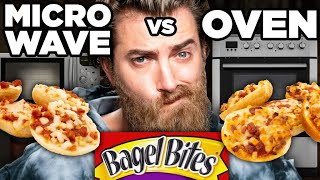 Download Microwaved vs. Oven-Baked Snack Taste Test Mp3 and Videos