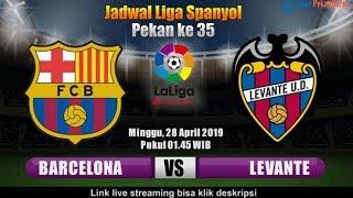 Barcelona vs levante liga spanyol ...
