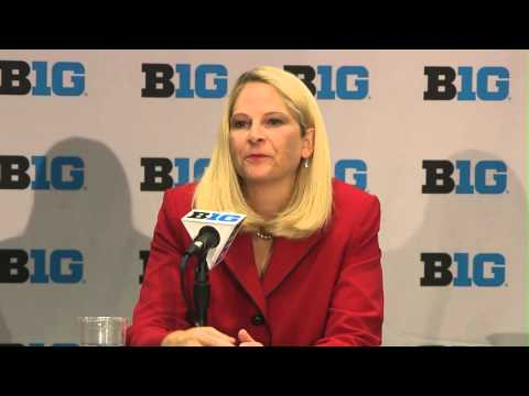 Brenda Frese - 2015 Big Ten Women's Basketball Media Day