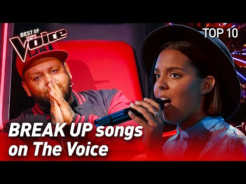 TOP 10 | The Best BREAK UP Songs In The Voice