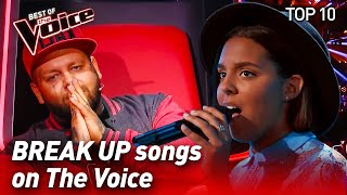 Download lagu TOP 10 The Best BREAK UP songs in The Voice