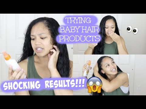 I TRIED USING KIDS HAIR PRODUCTS IN MY HAIR (START TO FINISH) | THIS HAPPENED....CRAZY RESULTS!