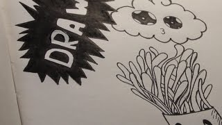 Как нарисовать дудлинг - видео-урок по запросу
