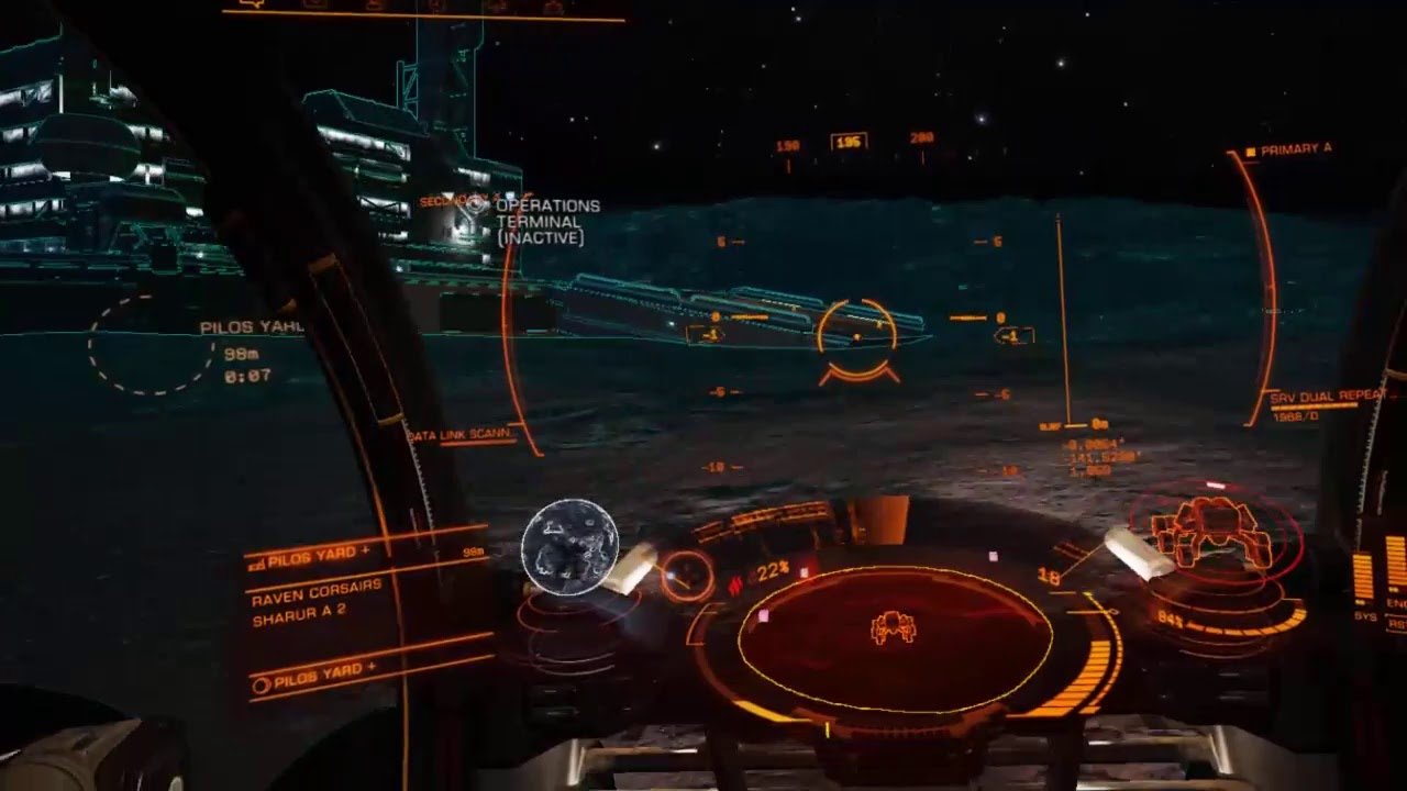 Simulator bawa kapal angkasa