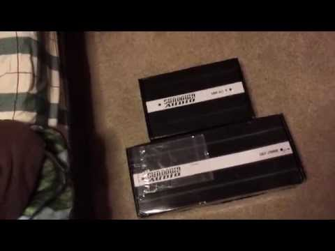 Sundown Audio Amp Unboxing Video