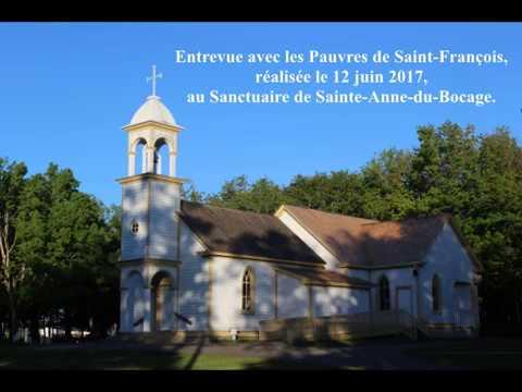Entrevue avec les Pauvres de Saint-François