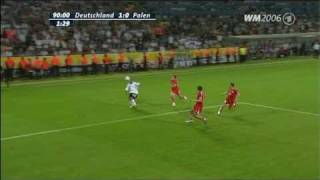 Germany vs. Poland - Highlights and Goal (FIFA World Cup 2006)