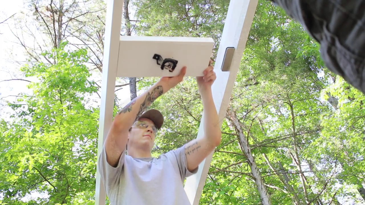 Adding A Fan To Your Outdoor Structure Or Pergola Youtube