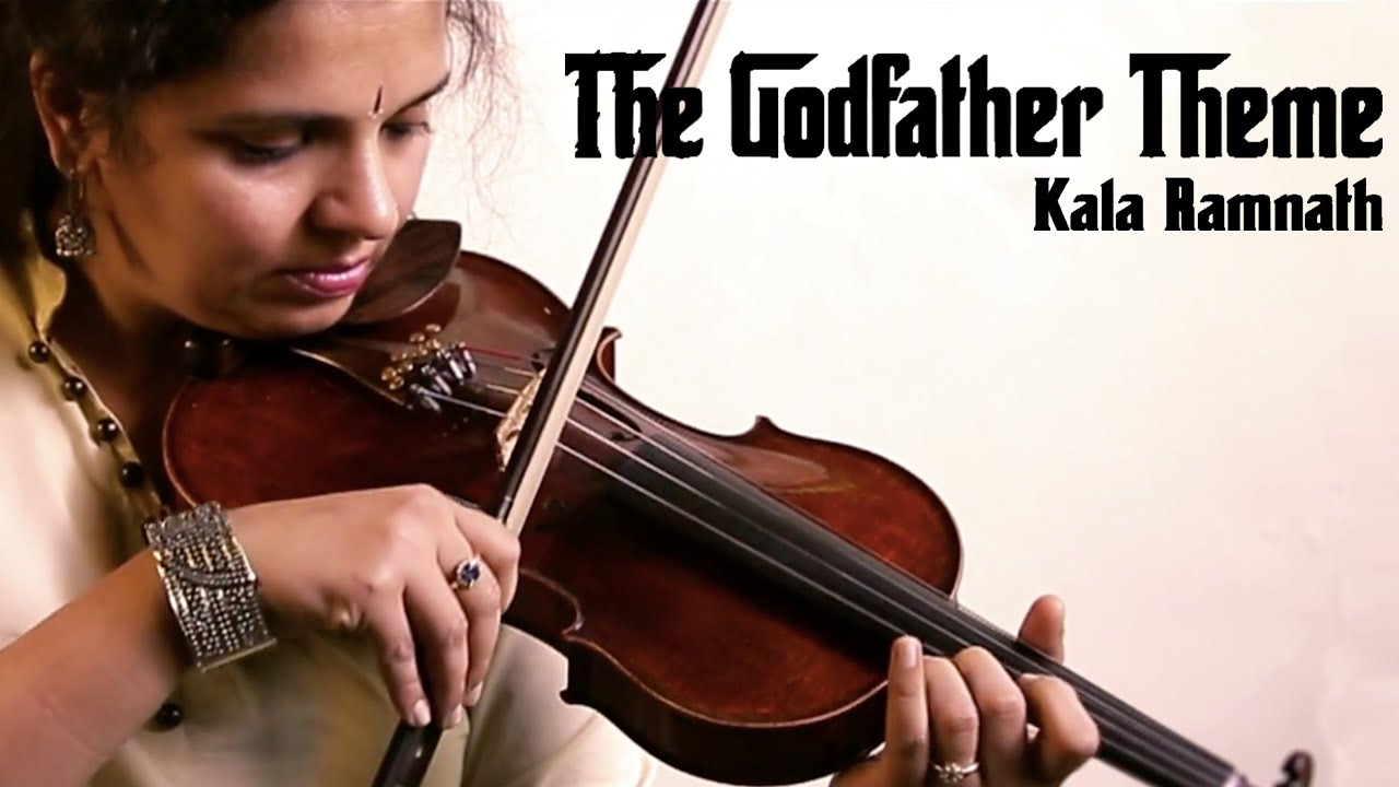 Kala Ramnath - The Godfather Theme [Cover]