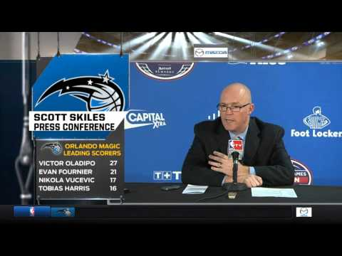 Scott Skiles -- Orlando Magic vs. Toronto Raptors postgame 1/14/16