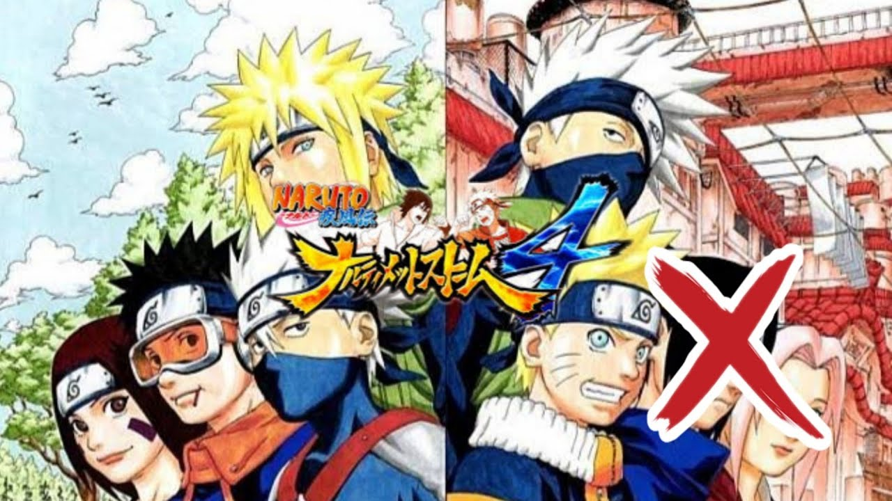 Tim 7 Minato VS Tim 7 Kakashi Naruto Shipuden Ultimate Ninja Storm 4 No Sasuke