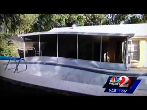 how to fix fibreglass showing in pool diy