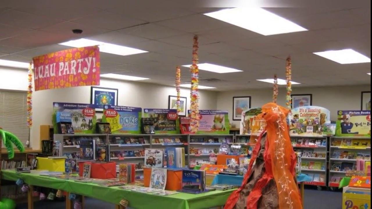 Elementary School Library Decorating