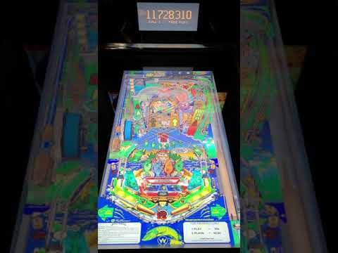 Arcade1up Pinball Fish Tales Gameplay from Kevin F