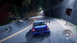 GRID - Subaru Impreza WRX STI vs Mitsubishi Lancer Evo 6 Downhill Touge