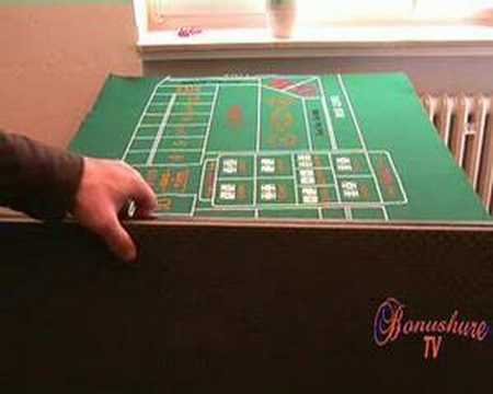 Craps table 3d model