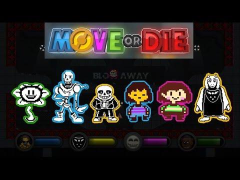 Move or Die Undertale Mods 1
