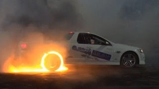 HOON LAWS - Tyre Fire at Burnout King 2015