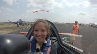 Fanny Viallard - Extra 200 - Aerobatic Flight - F5OUX, Cyril