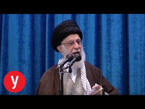 נאומו של עלי חמינאי באיראן