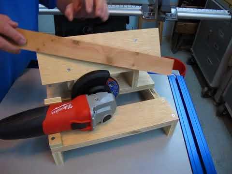Diy Lawn Mower Blade Sharpening Bench 1 5 Youtube