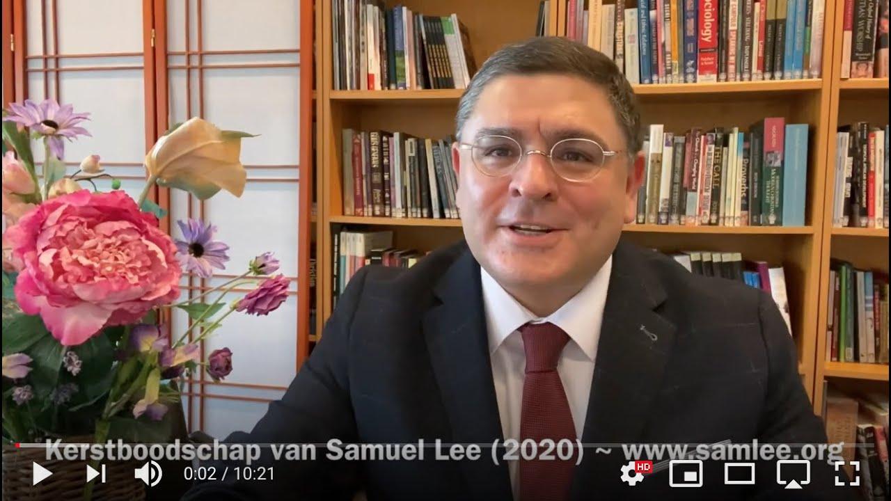 De Kerstboodschap van Samuel Lee