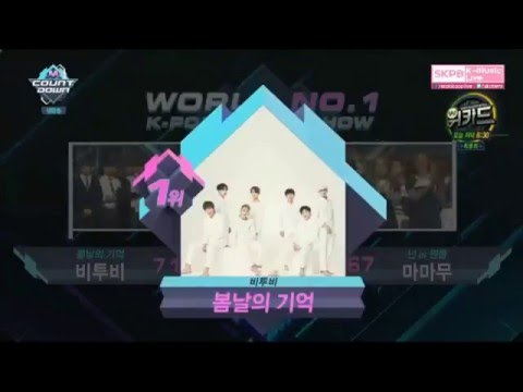 BTOB Win No.1 FIRST EVER Public Broadcast Music Show
