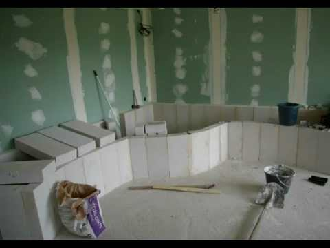 Fabrication d 39 un bassin d 39 interieur youtube for Fabrication escalier beton interieur