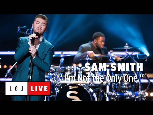 Sam Smith - Im Not the Only One - Live du Grand Journal