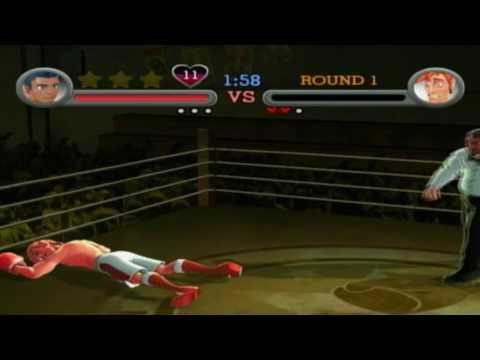 Punch-Out!! Wii - NES 8-bit mode: Glass Joe