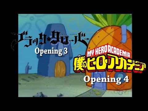 Black Clover Opening 3 Is Better Then My Hero Academia Opening 4