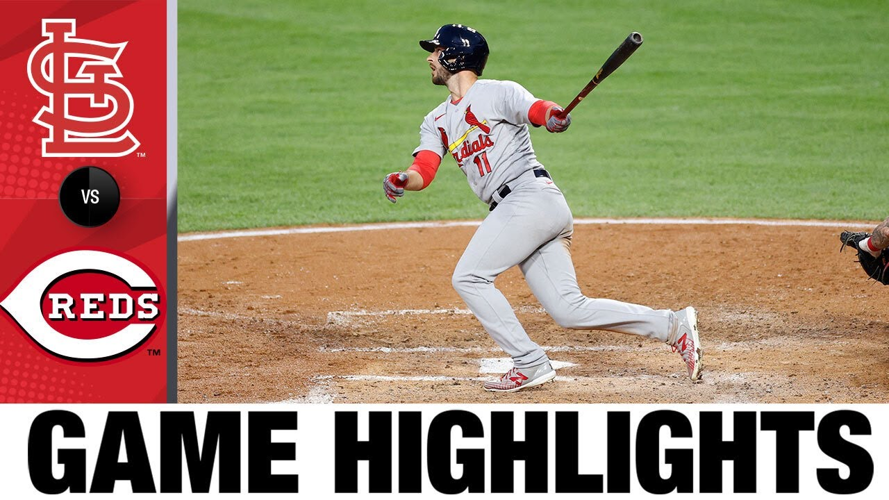 Paul DeJong's grand slam leads Cardinals   Cardinals-Reds Game Highlights 8/31/20