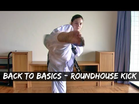 Back To Basics | Roundhouse Kick/ Dollyo Chagi | Step by Step Guide | The Martial Artist's Way🥋
