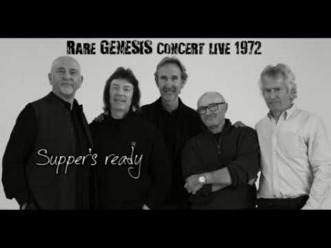 Rare Genesis Supper's ready in London 1972