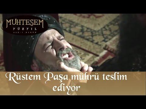 Rüstem Paşa Mührü Teslim Ediyor - Muhteşem Yüzyıl 124.Bölüm