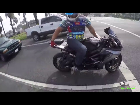 THESE MOTOR BIKERS ARE SO UNLUCKY!