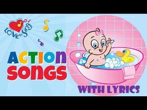Splish Splash Bath Song | Kids Action Song | Children Love to Sing