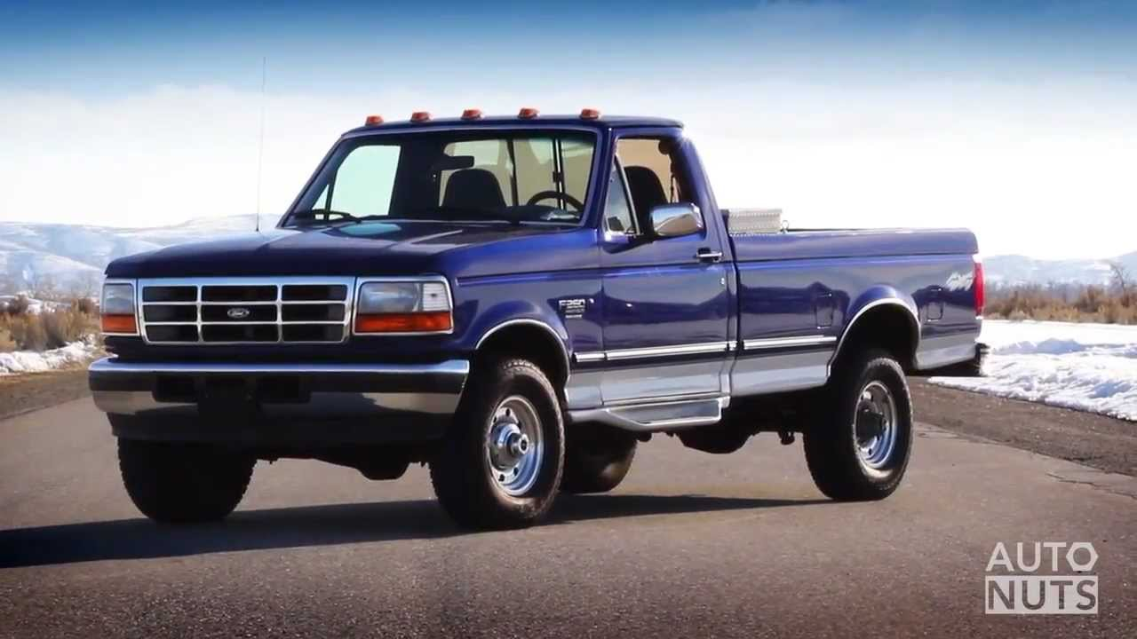 review ford f250 7 3 power stroke diesel youtube. Black Bedroom Furniture Sets. Home Design Ideas