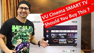 New VU Cinema Smart TV 43 inch Unboxing and All the Details | VU Cinema Android Smart TV