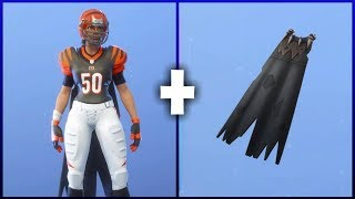 5 BEST 'NFL' SKIN + BACKBLING COMBOS - Fortnite