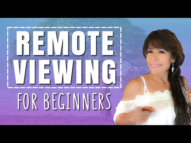 Remote Viewing For Beginners - Step By Step Guide to Remote View 👁