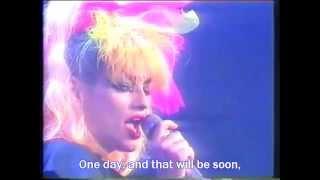 """Nina Hagen - """"Song to sing from Prison"""" (B. Brecht / H. Eisler) w/ English & Deutsch subtitles"""