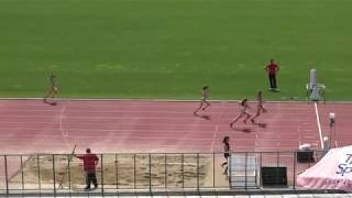 400m Heat 4, Women, National Championship U20, Sofia, Bulgaria 2018