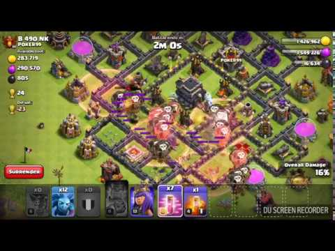 Level 6 Loons And Haste With No Lava Vs Th 9 Max.