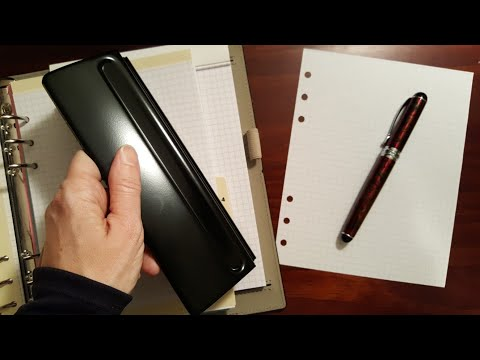 Affordable Hole Punch For A5 Filofax