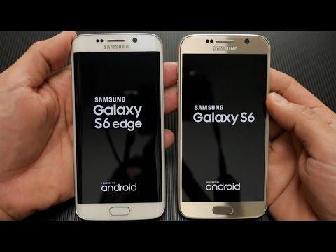 Galaxy S6 Edge vs Galaxy S6 (Greek)