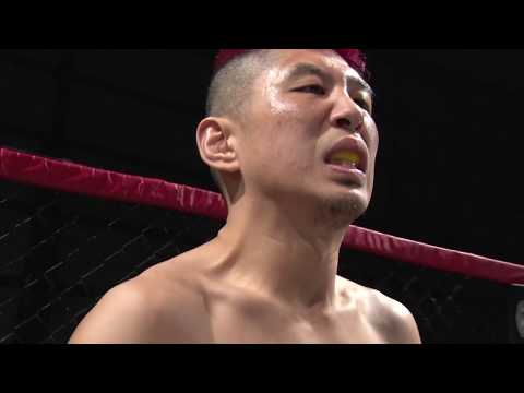 GLADIATOR008 フェザー級 5分2R MIKE(M3A FIT/第2代GLADIATORフェザー級王者) vs  平澤宏樹(Team侍)