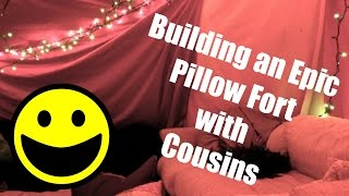 (Epic) PILLOW FORT!!